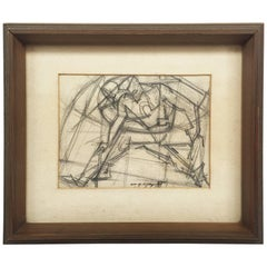 William Littlefield Untitled Small Drawing, 1951