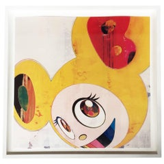 "Takashi Murakami Offset Lithograph, ""And Then...Yellow Jelly"""