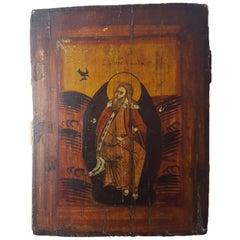 Fine Greek Icon of a Saint 18th Century