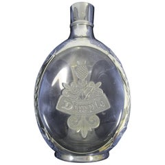 Dimple Haig Pewter Mounted Whisky Decanter
