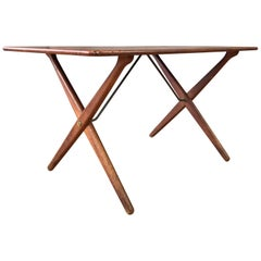 Hans J. Wegner for Andreas Tuck Model AT-308 Teak Coffee Table