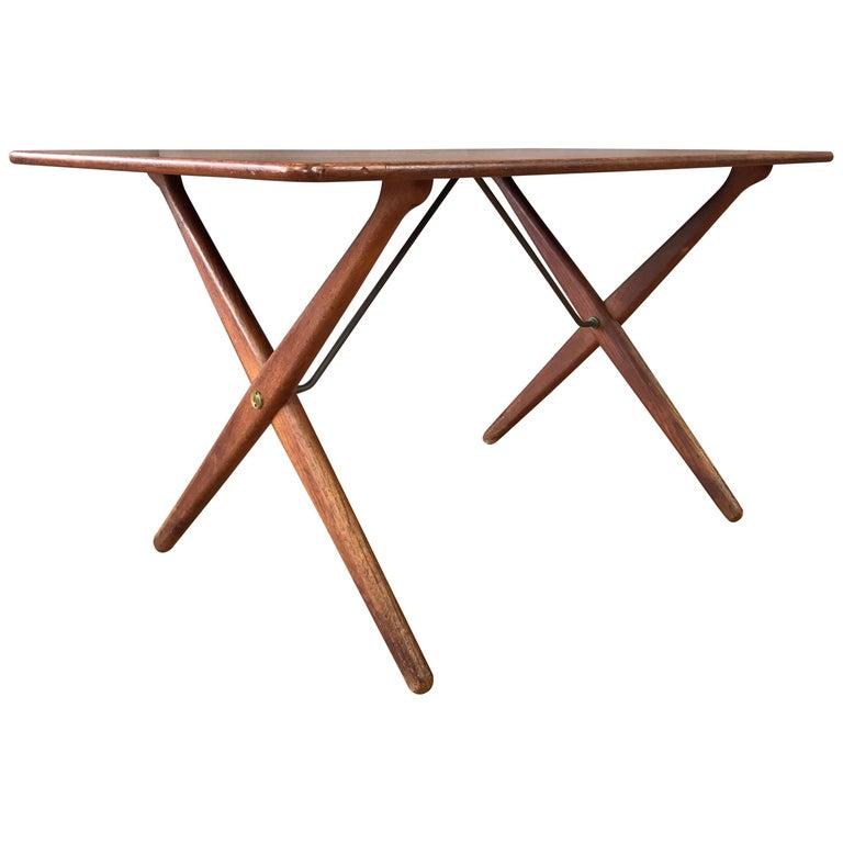 Hans J. Wegner for Andreas Tuck Model AT-308 Teak Coffee Table