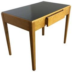 Art Deco Golden Oak Desk