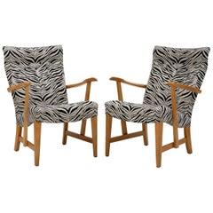 Pair of Prinssi Easy Chairs by Carl-Gustaf Hiort af Ornäs