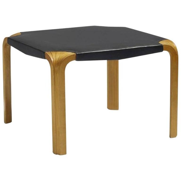 Alvar Aalto, Artek X-Leg/Fan Leg Bench/stool, 1954 For Sale
