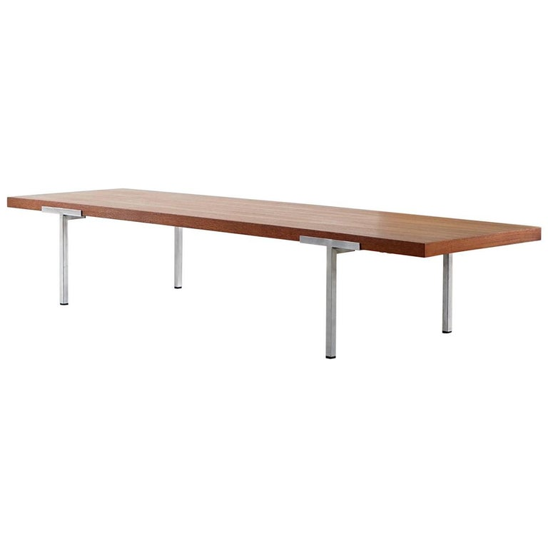 Antoine Philippon, Jacqueline Lecoq, Sofa Coffee Table, circa 1962 by Laauser For Sale