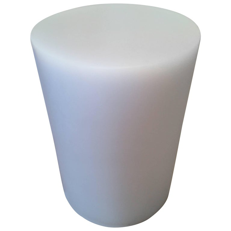Soap Column Stool or Side Table by Sabine Marcelis, Ice-Lavender