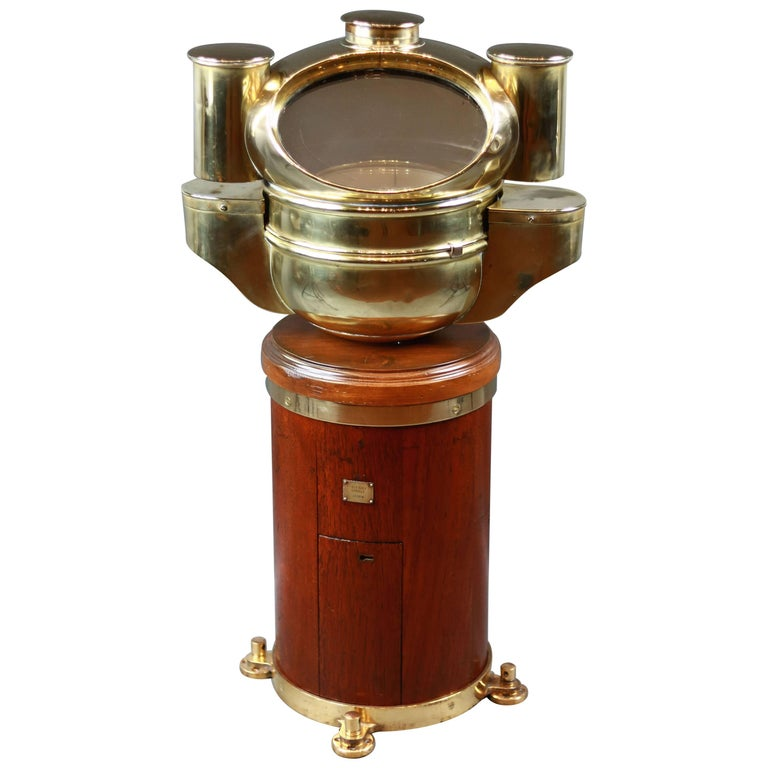 Late 19th Century Binnacle Pascall Atkey For Sale