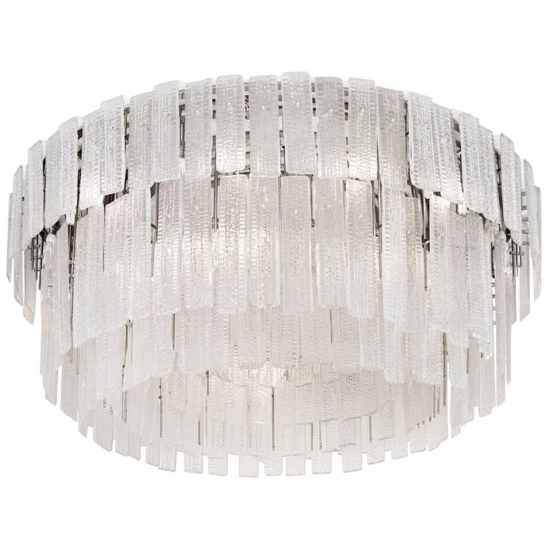Monumental 20th Century Chandelier Commissioned for the QE2 For Sale