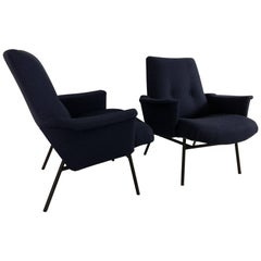 Pair of Armchairs Model SK660 by Pierre Guariche