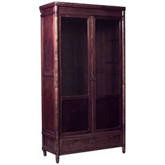 Austrian Bentwood Secessionist Armoire Cabinet