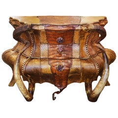 Crocodile and Amethyst Chest of Drawers