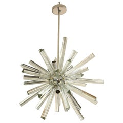 Murano Glass Rod Fixture, circa 1980s