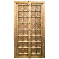 19th Century Brass and Copper Spanish Door