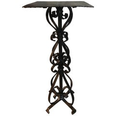 French 18th Century Iron Stand