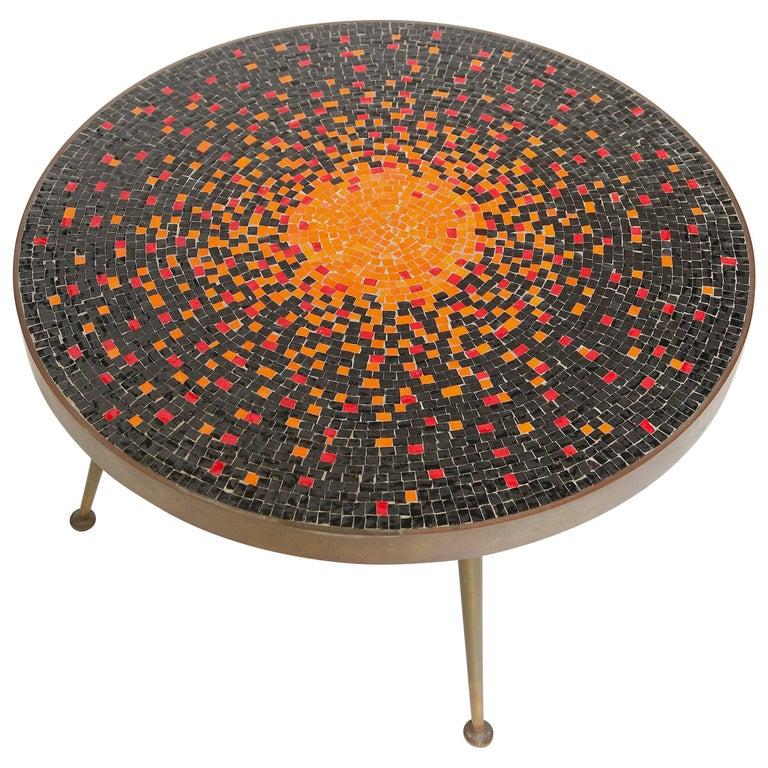 Murano Glass Tile Coffee Table