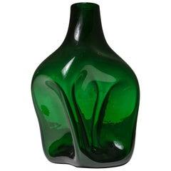 Rare Murano Glass Vase by Toni Zuccheri