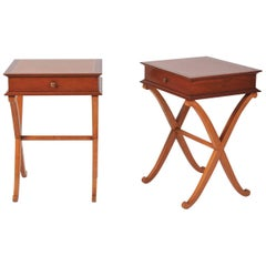 Pair of French 1940s Bedside Tables