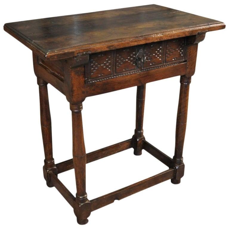 17th Century Spanish Side Table