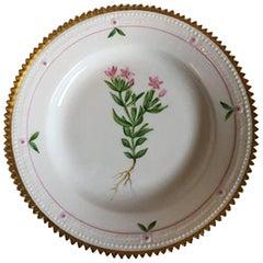 Royal Copenhagen Flora Danica Cake Plate #735/3551