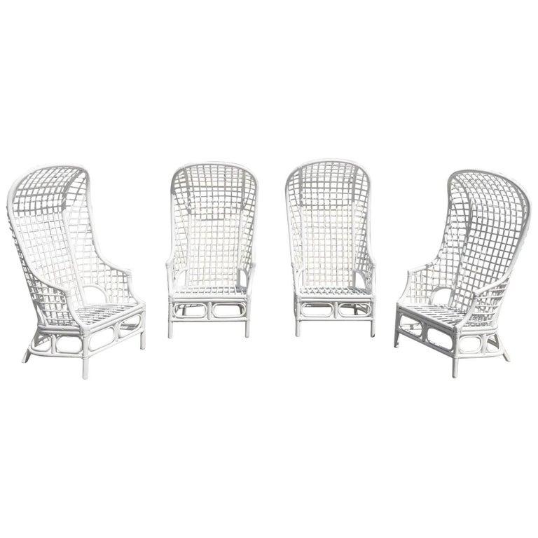 Midcentury Rattan Chairs