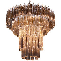 Five-Tiered Venini Chandelier