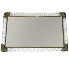 Murano Twisted Glass Rope Vanity Tray