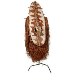 Oceanic Tribal Art Large Body Mask Keveke by Mauu Aiha Papua New Guinea