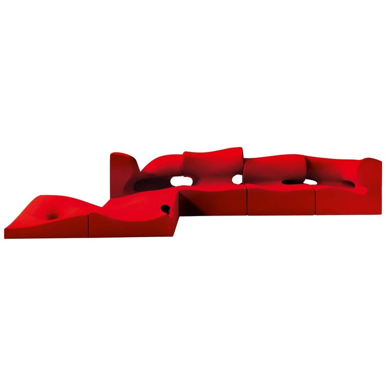 Moroso Misfits Modular Sofa by Ron Arad Designed in 2007