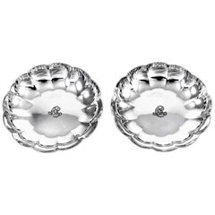 Sterling Silver Pair of Tiffany Candy Dishes