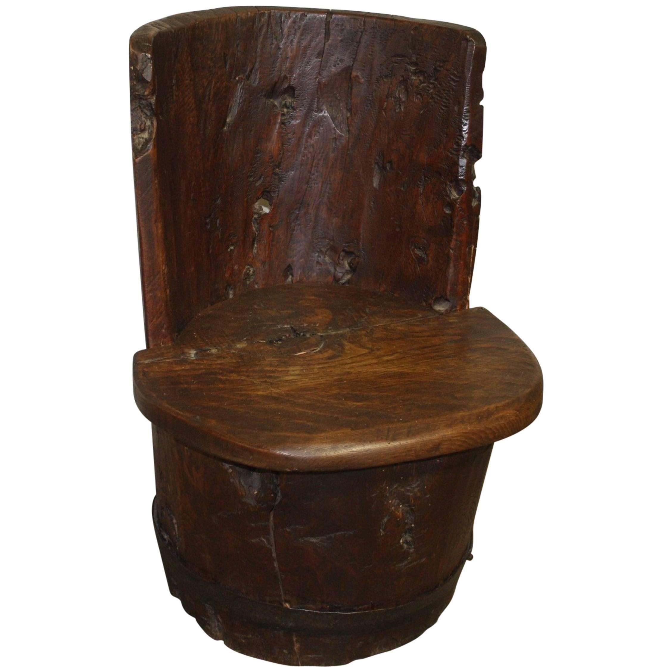 18th Century Primitive Child Chair