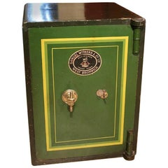 Antique English Safe