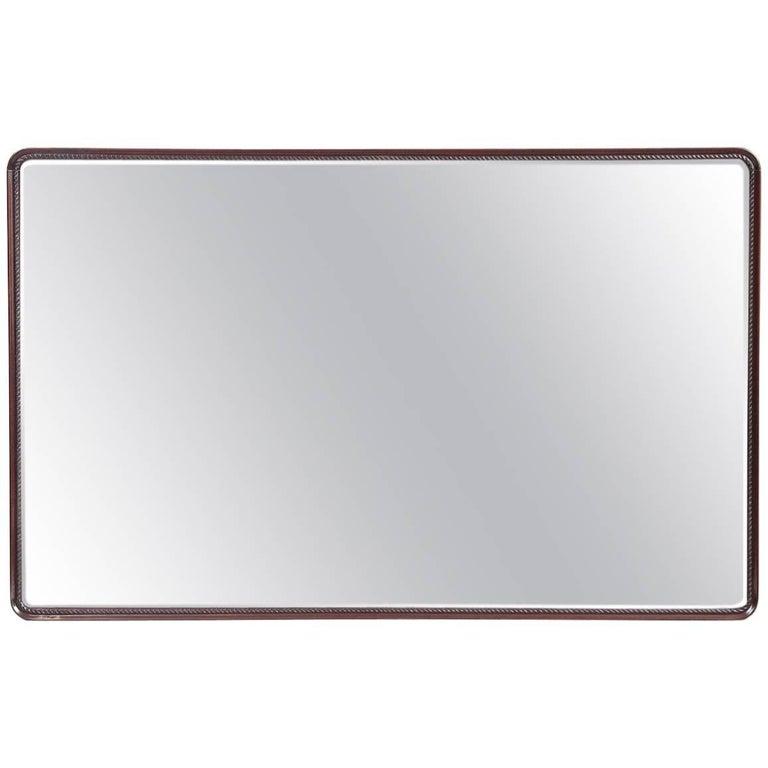 Midcentury Italian Large Wall Mirror