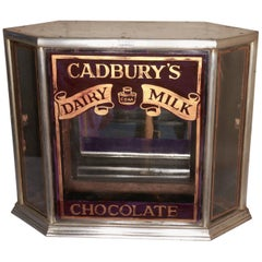 Art Deco Cadbury's Sweet Shop Display Cabinet