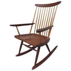 George Nakashima Rocker Stamped Studio