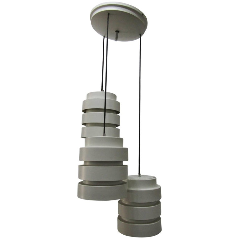 Ceiling Pendant with Three Lights, Italy, 1970