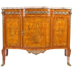 Parisian Splendor Commode Made of Rosewood