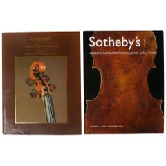 Two Sotheby's London Auction Catalogues on Musical Instruments