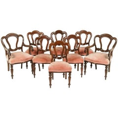 Set of English Dining Chairs