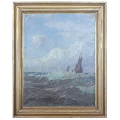1900s Oil Painting by L. Schonshen