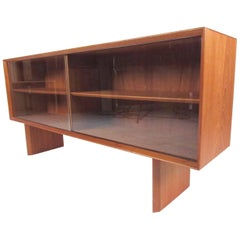Mid-Century Modern Teak Bookcase by Falster