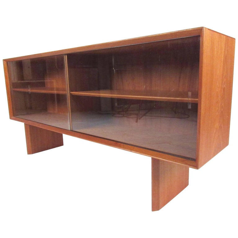 Mid-Century Modern Teak Bookcase by Falster For Sale