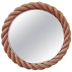 Rope Mirror Audoux Minet, circa 1960