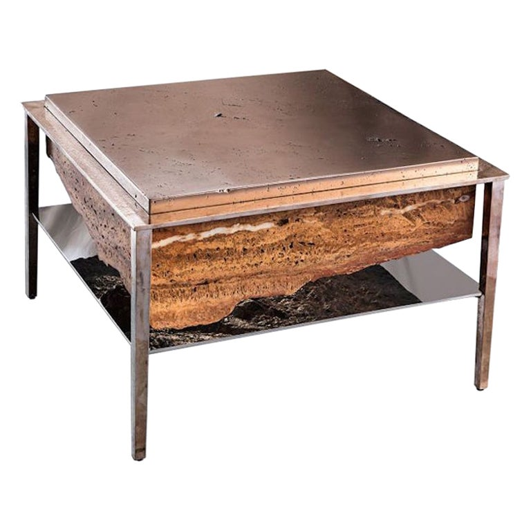 Cremino Coffee Table Handcrafted by Gianluca Pacchioni
