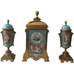 19th Century Sevres-Style Garniture