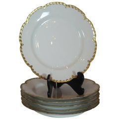 Set of Six French Plates