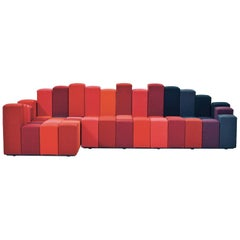 Do-Lo-Rez Collection by Ron Arad in Blue, Grey or Red Combinations for Moroso