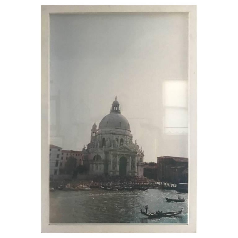 Large Scale Architectural Photograph of the Basilica of Santa Maria della Salute