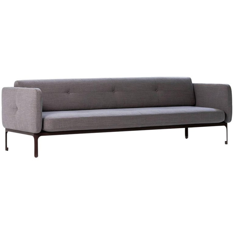 Modernista Sofa, Doshi and Levien in Four Sizes in Fabric or Leather for Moroso