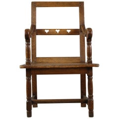 French Country Marriage or Love Chair